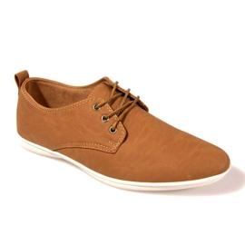 Marrom Sapatos elegantes -82 camelo