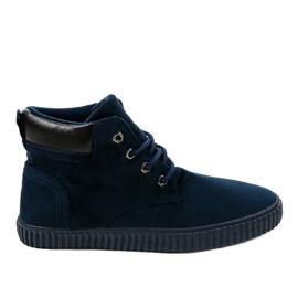 Sapatilhas para homem com isolamento azul escuro AN06 marinha