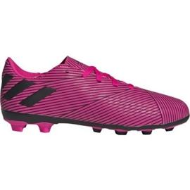 Chuteiras de futebol Adidas Nemeziz 19.4 FxG Jr F99949