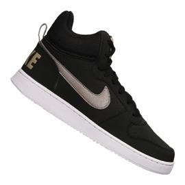 Preto Sapatilhas Nike Court Borough Mid M 838938-005