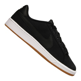 Preto Sapatilhas Nike Court Royale Canvas M AA2156-001