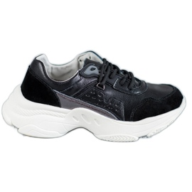 Vinceza Calçado Esportivo Atado preto