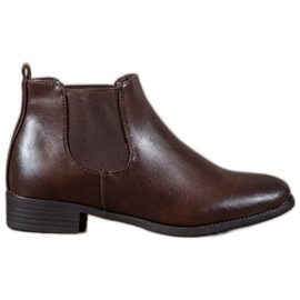 Anesia Paris marrom Botas Brown Jodhpur