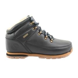 American Club ES39 sapatos de amarrar azul marinho marinha