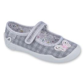 Calçado infantil Befado 114X364 cinza
