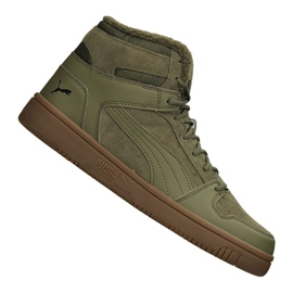 Verde Sapatilhas Puma Rebound LayUp Sd Fur M 369831-03