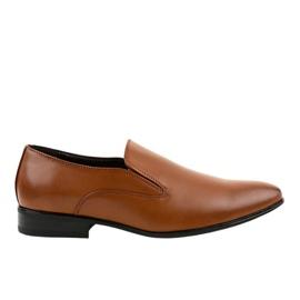 Mocassins elegantes marrons 6-317 marrom