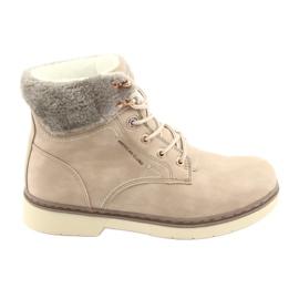 American Club Sapatos de amarrar RH47 bege marrom