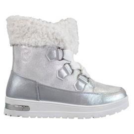 Botas de neve quente de MCKEYLOR cinza