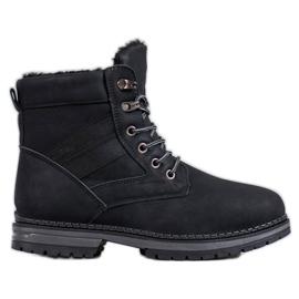 SHELOVET Botas pretas de inverno preto