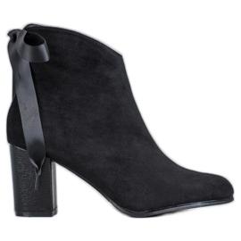 Filippo Botas de tornozelo preto elegante