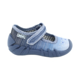 Calçado infantil Befado 109P186 azul