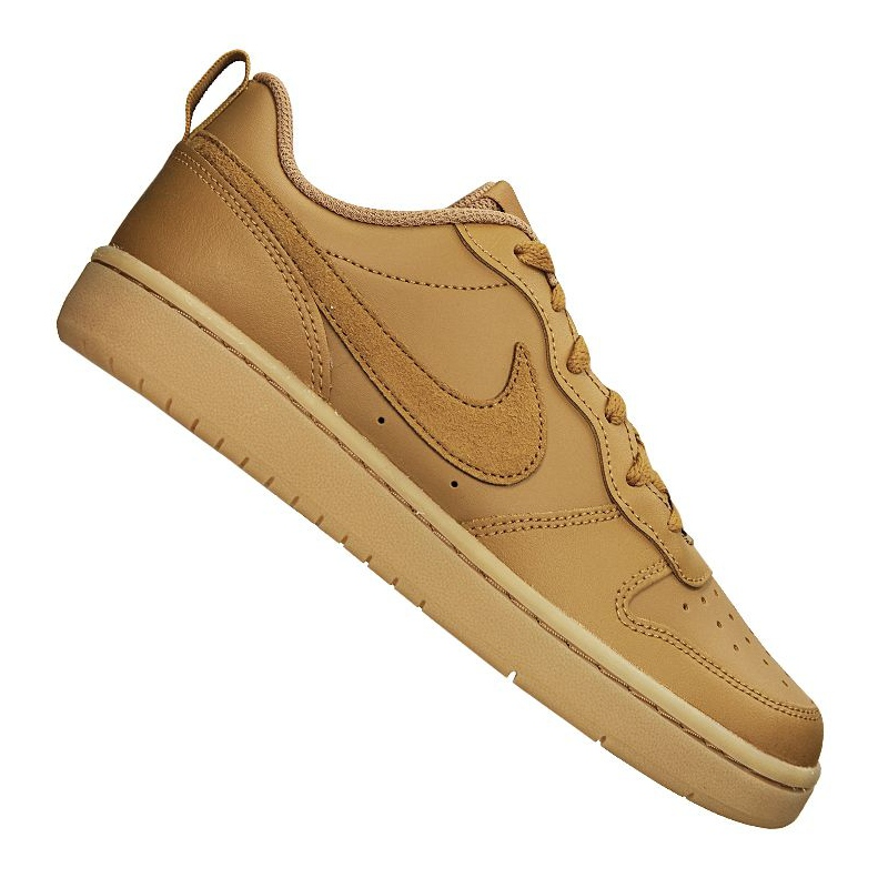 Sapatilhas Nike Court Borough Low 2 (GS) Jr BQ5448 700 marrom