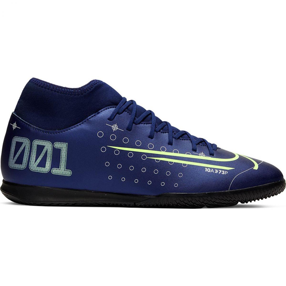 Chuteira Nike Infantil Mercurial Superfly 7 Club ic Preta Virtual Esportes