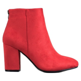 Botas Sexy VINCEZA vermelho