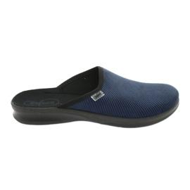 Befado sapatos masculinos pu 548M019 marinha