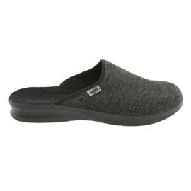 Befado sapatos masculinos pu 548M022 cinza