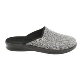 Sapatos masculinos Befado pu 548M023 cinza