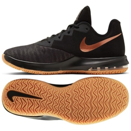 Sapatilhas Nike Air Max Infuriate Iii Low M AJ5898-009 preto preto