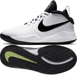 Sapatilhas Nike team Hustle D 9 (GS) Jr AQ4224-100 branco branco