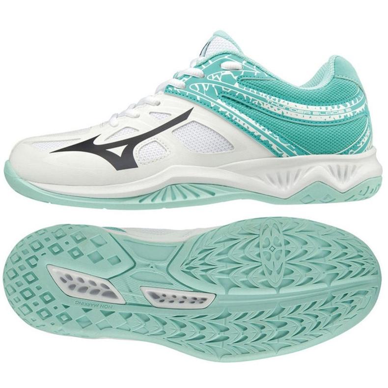 Sapatos Mizuno Thunder Blade 2 W V1GC197014 branco branco