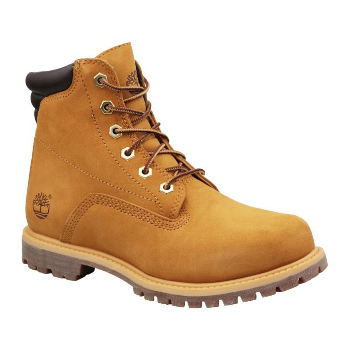 Botas de inverno Timberland Waterville 6 In Basic W 8168R marrom