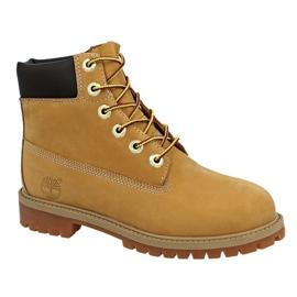 Sapatos Timberland 6 In Premium Wp Boot Jr 12909 amarelo