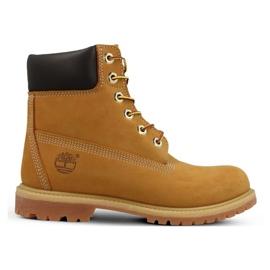 Sapatos Timberland Premium 6 Inch Jr 10361 amarelo