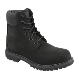Sapatos Timberland 6 Premium In Boot Jr 8658A preto