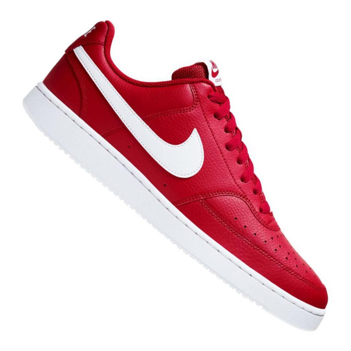 Sapatilhas Nike Court Vision Low M CD5463 600 vermelho
