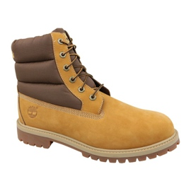 Botas de inverno Timberland 6 In Quilit Boot Jr C1790R marrom