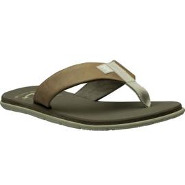 Chinelos Helly Hansen Seasand Sandália em couro M 11495-723 marrom
