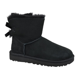 Sapatos Ugg Mini Bailey Bow Ii W 1016501-BLK preto
