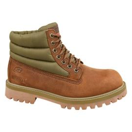 Sapatos Skechers Sergeants Verno M 65838-CDB marrom