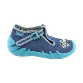 Sapatos infantis Befado 110P320 azul