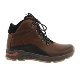Sapatos de trekking Riko 903 marrom / preto