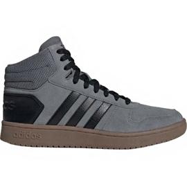 Sapatilhas Adidas Hoops 2.0 Mid M EE7367 cinza
