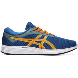 Asics Patriot 11 M 1011A568 401 tênis de corrida azul