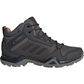 Sapatos Adidas Terrex AX3 Mid Gtx M BC0468 cinza