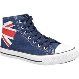 Sapatos Lee Cooper High Cut 1 LCWL-19-530-041 azul