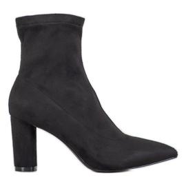 Filippo Botas deslizantes elegantes preto
