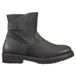 Sergio Leone Botins confortáveis de tornozelo preto