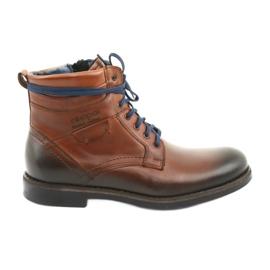 Nikopol 700 botas com zíper marrom
