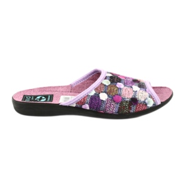 3D Adanex chinelos chinelos roxos