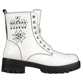 Goodin Botas brancas branco