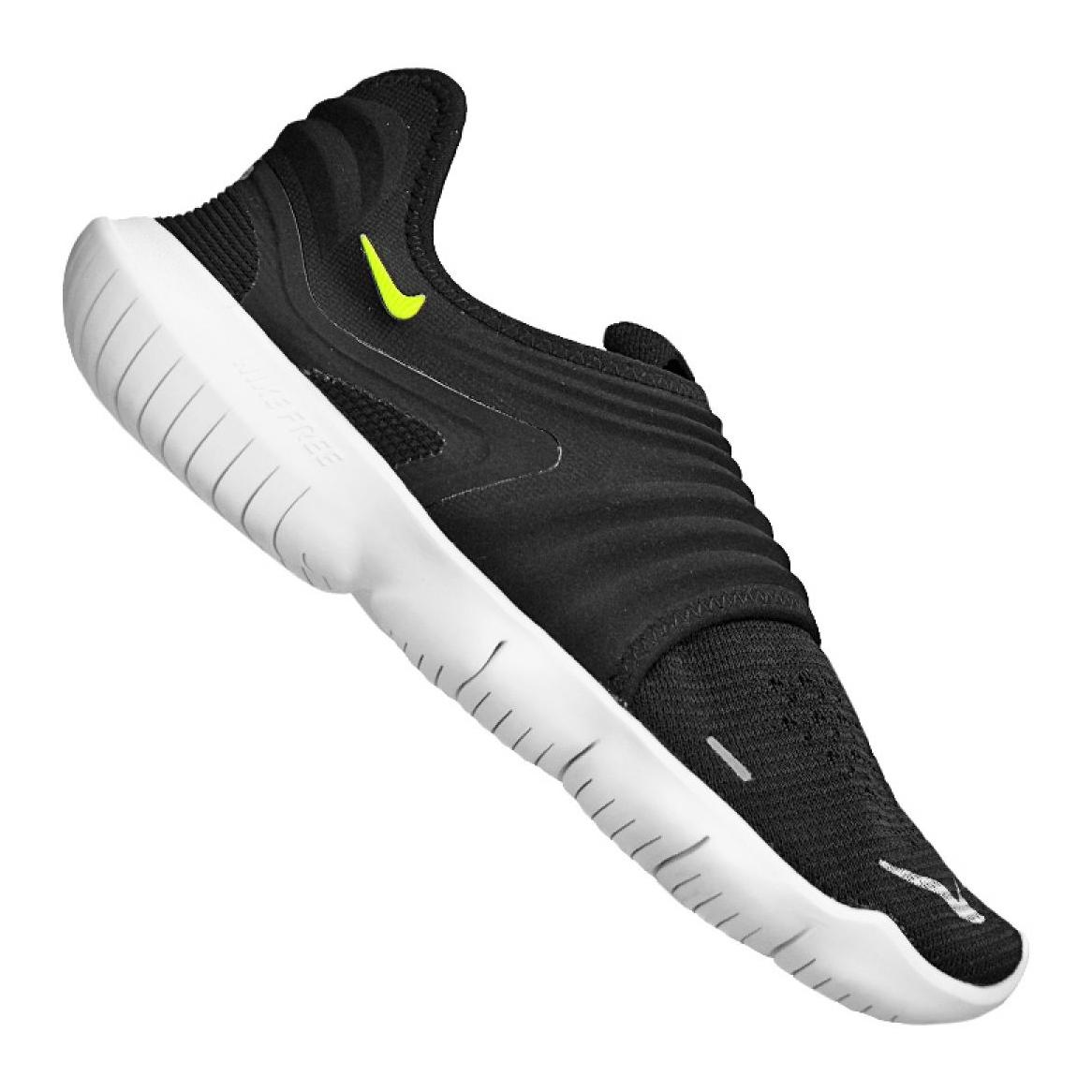 Masculino Nike Free 5.0 tênis de corrida Knitting Preto