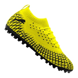 Puma Future 4.2 Netfit Mg M 105681-02 chuteiras amarelo amarelo