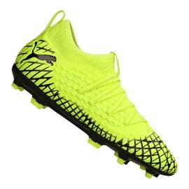 Puma Future 4.3 Netfit Fg / Ag Jr 105693-03 chuteiras amarelo amarelo