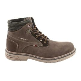 American club sapatos masculinos RH35 marrom