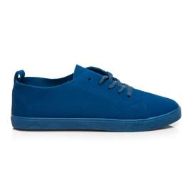 SDS Sapatilhas com cordões azul
